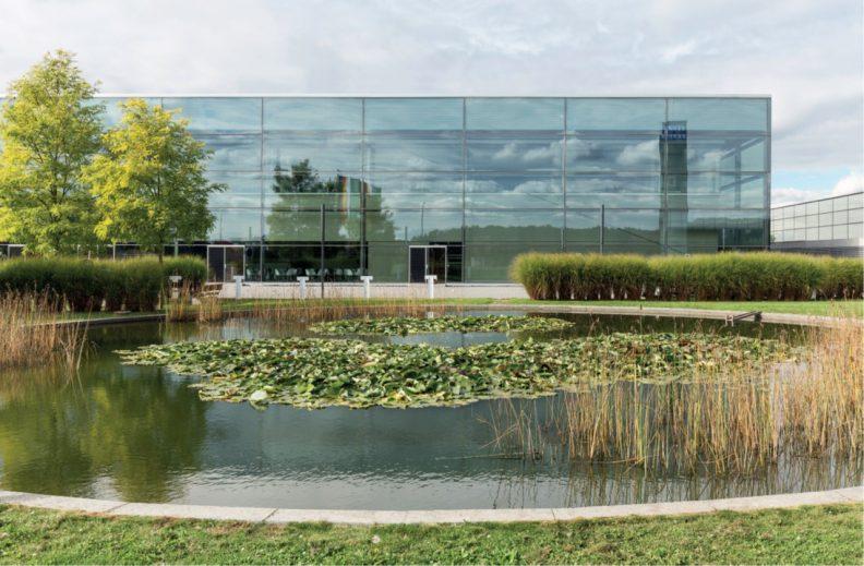 Firmensitz Riva, Aussenansicht