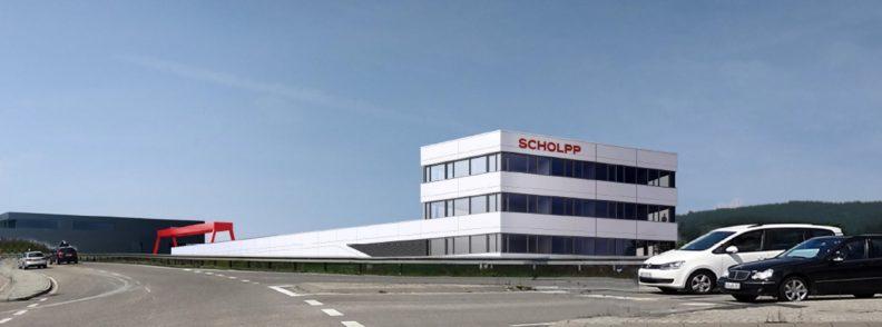 Niederlassung Firma Scholpp, Aussenansicht