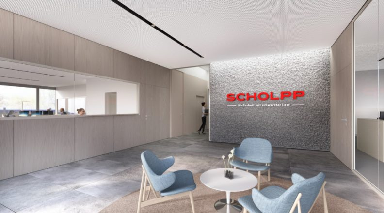 Niederlassung Firma Scholpp, Innenansicht