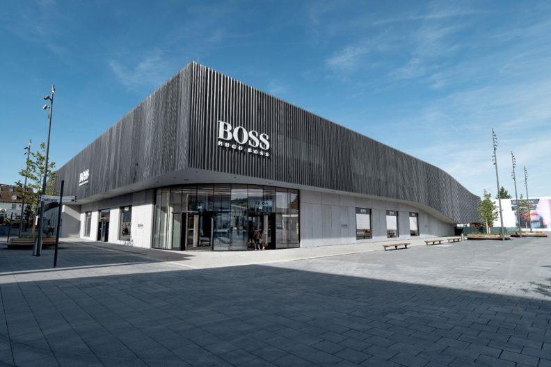 Boss Outlet Metzingen, Aussenansicht