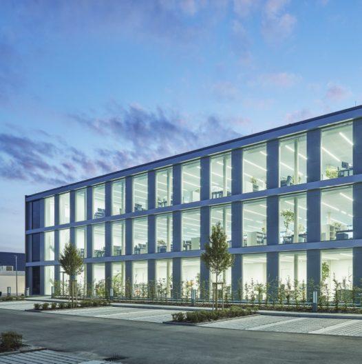 Neubau Süderweiterung EMAG, Aussenansicht