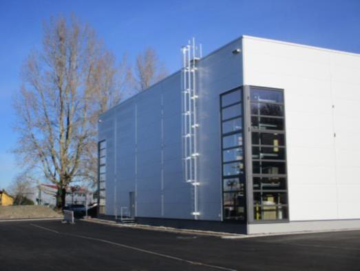 Industriehalle, Aussenansicht