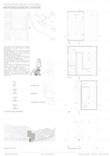 Entwurfsidee, Tragwerkkonzept und Grundrisse
