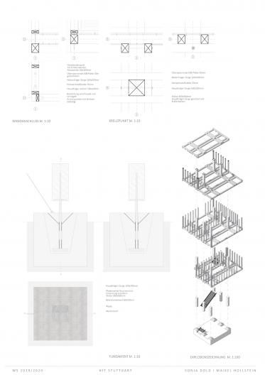 Konstruktive Details und Explosionszeichnung