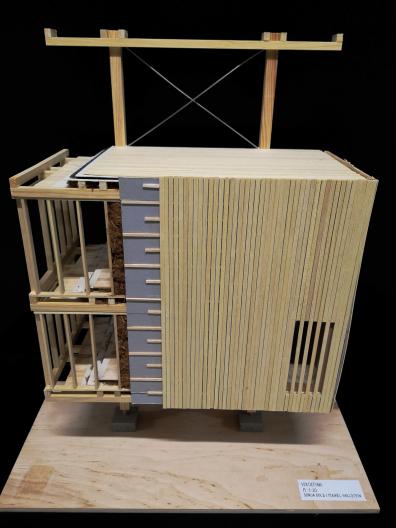 Bild Baukonstruktion Modell 1:50
